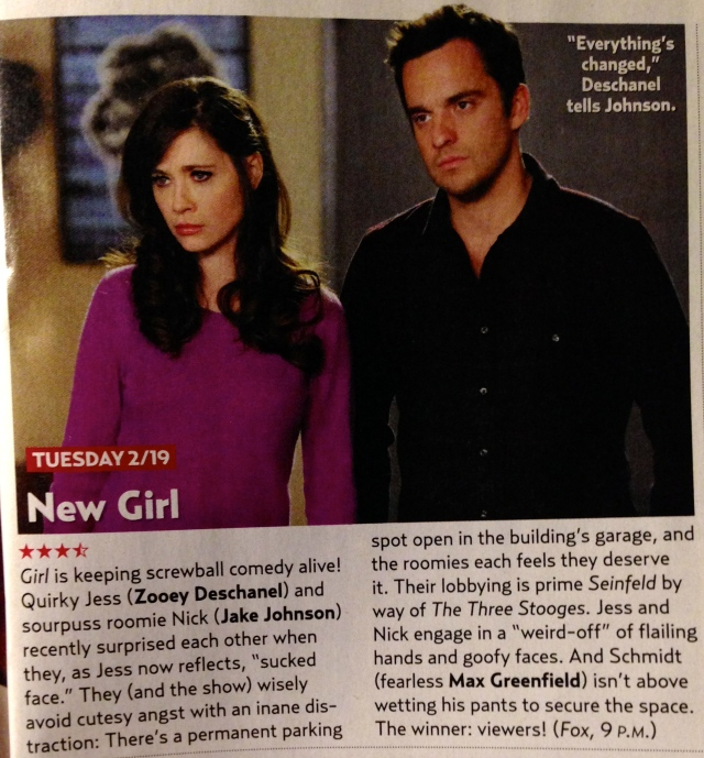 yayy they're suggesting everyone watch New Girl because it's such an awesome show; I know I will be!
