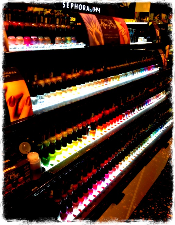 I want a polish collection looking like this.