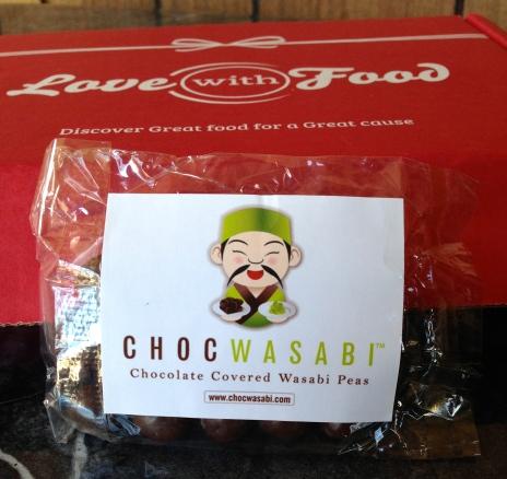 Chocolate Covered Wasabi Peas - Chocwasabi