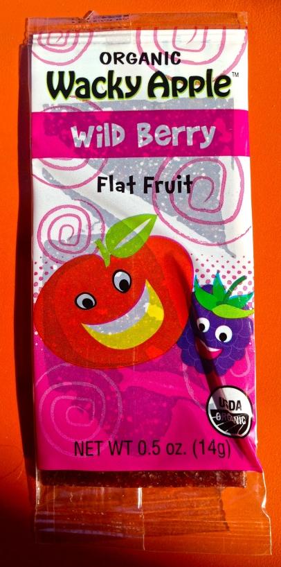 Wild Berrys Flat Fruit - Wacky Apple