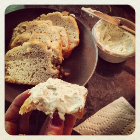 beer bread & delicious dip from my mama