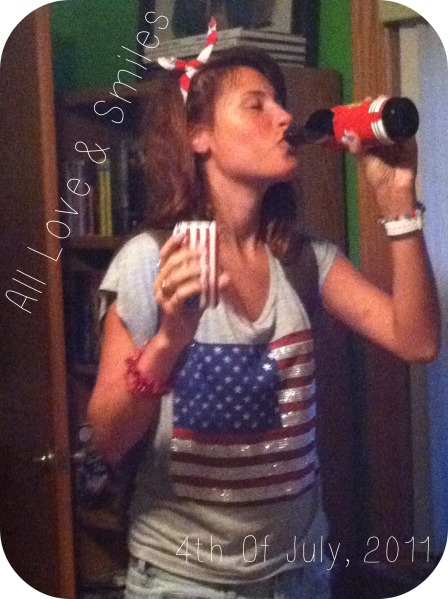4th of july drinking